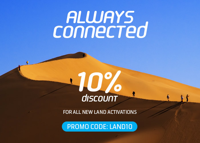 Land Activations 10% Discount