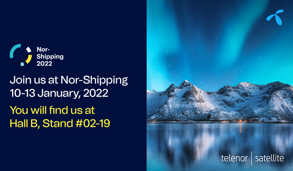 Telenor Satellite at Nor-Shipping 2022