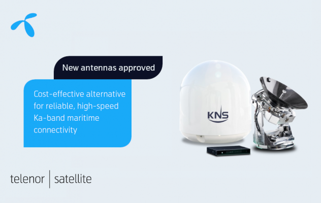 KNS antennas and Telenor Satellite