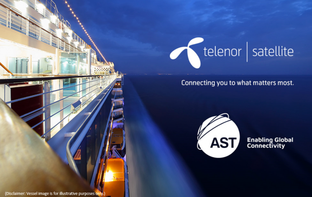 Telenor Satellite's THOR 7 Ka band High Throughput Satellite services to a new ground-breaking cruise ship.