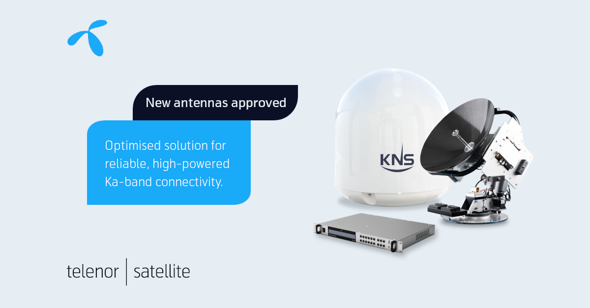 KNS antenna approved