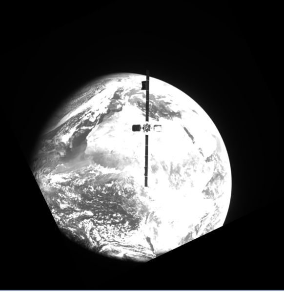 Telenor Satellite makes history when MEV-2 docks with THOR 10-02/IS-10-02 for the first-ever on-orbit satellite servicing in geosynchronous orbit.