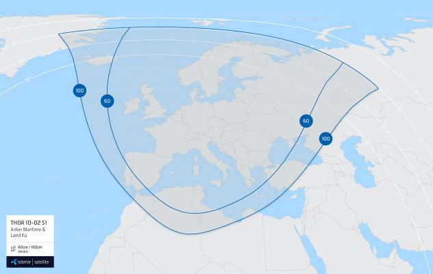 THOR 10-02 S1 Coverage map: Anker Maritime & Land u